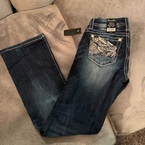 Brand New with Tags Miss Me Mid Rise Boot Jeans
